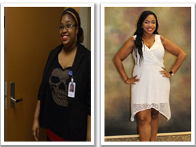 Lawntrina Belcher weight loss with Ascension Sacred Heart Surgical Weight Loss Center.