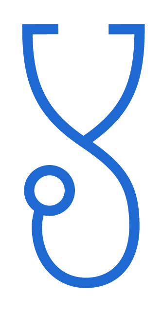 stethoscope step icon
